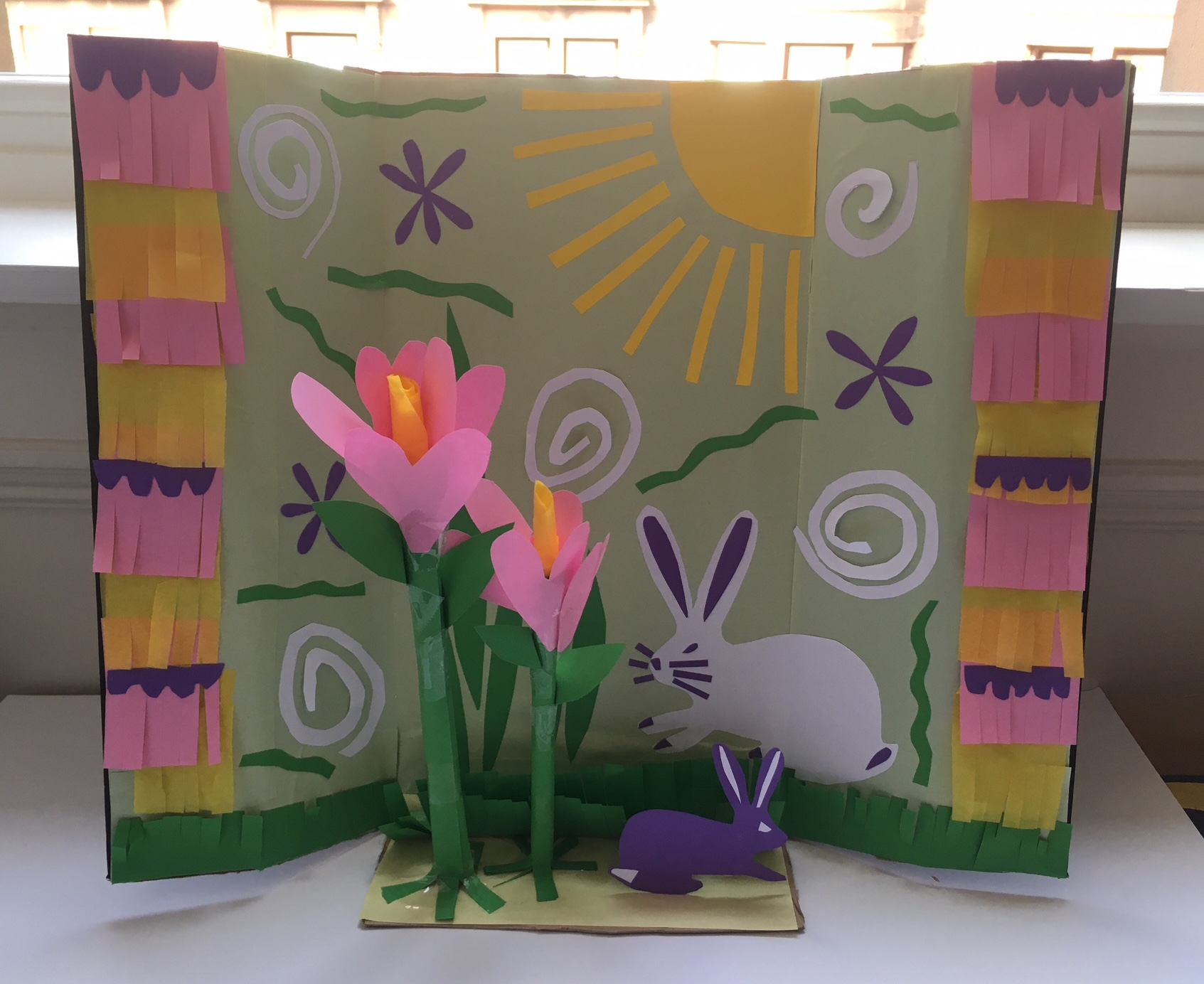 Saturday Art Club At Home | Week 2 | Spring in a Box