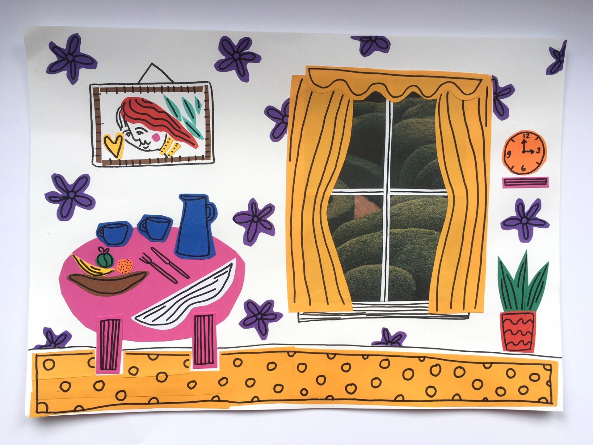 Saturday Art Club At Home   Week 6   Wee Window