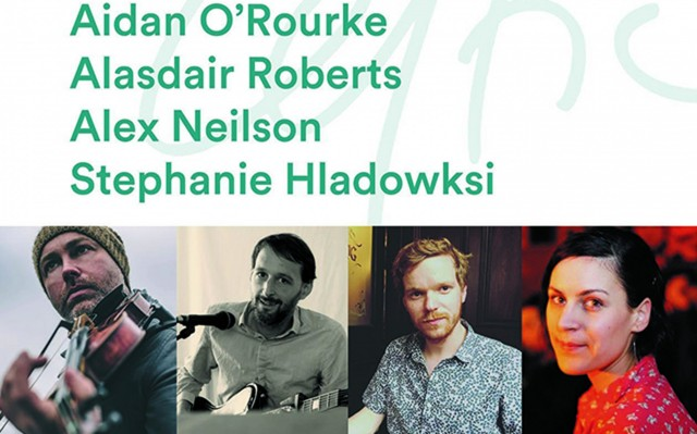 Aidan O'Rouke, Alasdair Roberts, Alex Neilson and Stephanie Hladowski