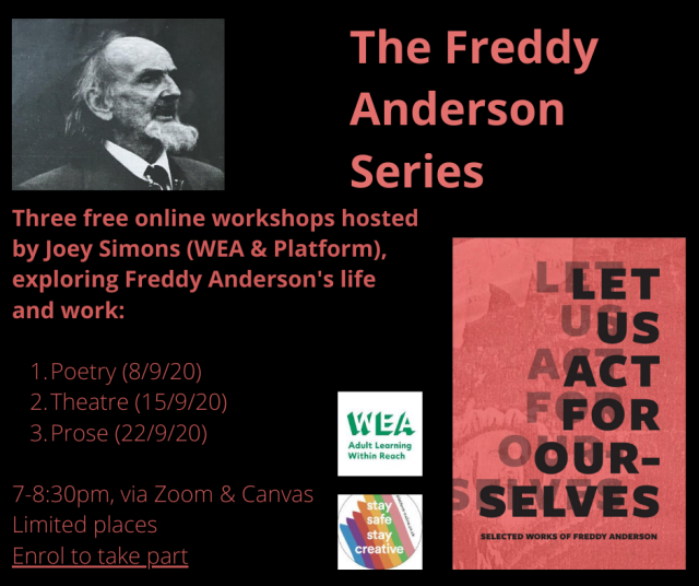 The Freddy Anderson Series: Free online workshops