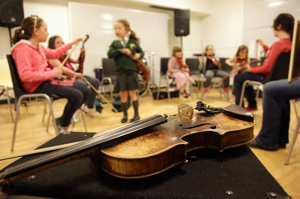 Booking open for music classes new term