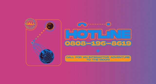 HOTLINE to the moon