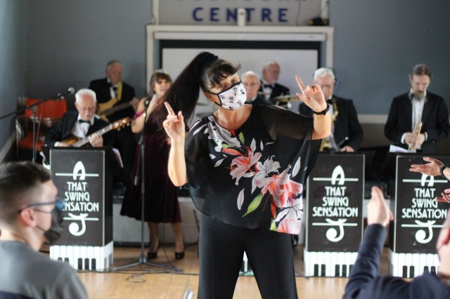 Tea dance on tour with Jon Ritchie and That Swing Sensation