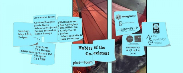Gordon Douglas | Habits of the Coexistent (2)