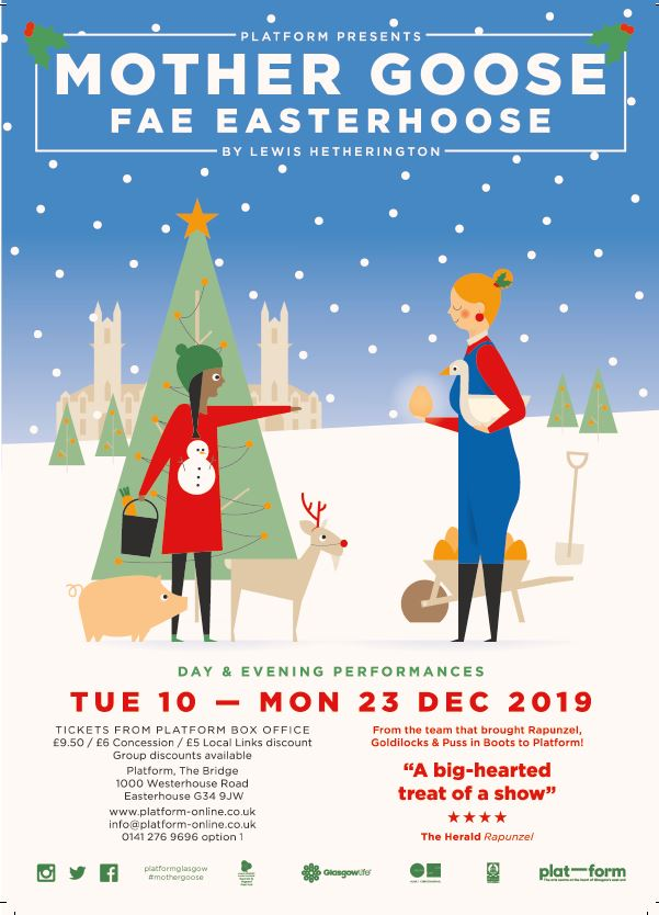 Christmas show: Mother Goose Fae Easterhoose