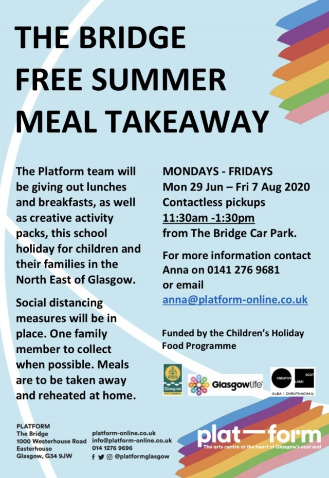 Platform launches free summer meal takeaway