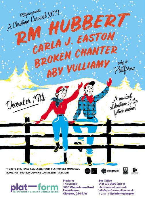 Christmas Carousal 2019: RM Hubbert, Carla J Easton, Broken Chanter & more